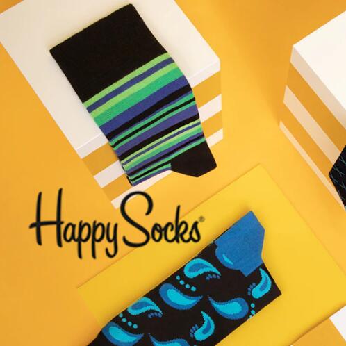 波点?条纹?还是菱格?总有一款 Happy socks 适合你!!