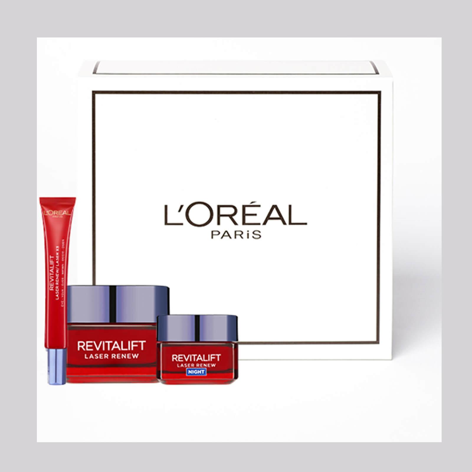 性价比王者! L'Oréal Paris/巴黎欧莱雅 焕肤抗衰老保湿套组