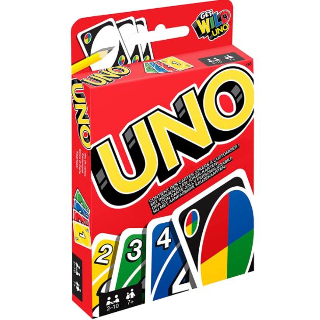 聚会必备 Mattel UNO 桌游牌 两人就可以玩起!