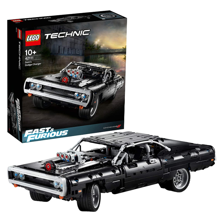 LEGO Technic系列《速度与激情》超燃同款模型车!Dom's Dodge Charger