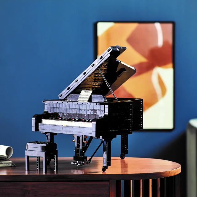 它真的可以演奏音乐!拼搭全新LEGO®IDEAS钢琴,肆享音乐律动!