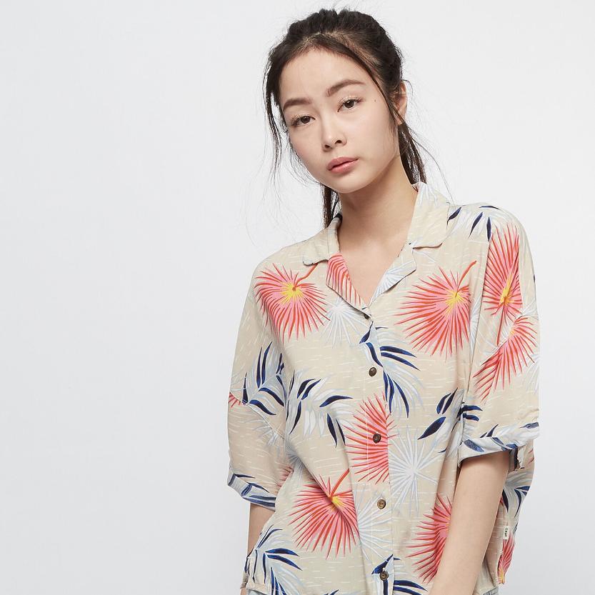 夏季热带风情!LEE大朵印花夏威夷衬衫