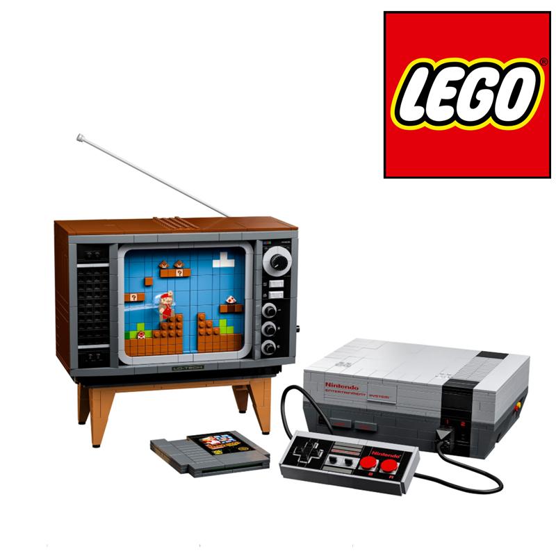 老任死忠粉必入!Lego乐高任天堂红白机模型玩具,还是童年的味道!