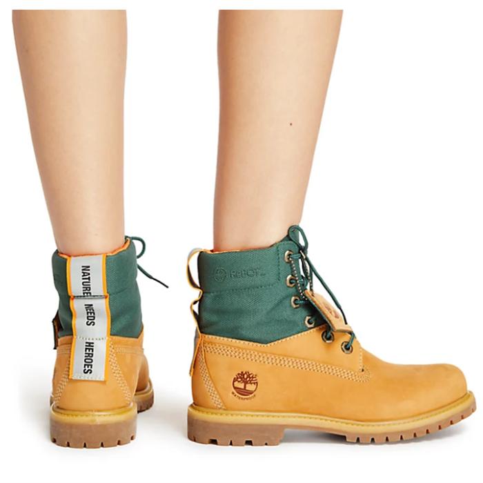 拼色最酷!全球户外领先品牌 Timberland 官网拼色经典大黄靴