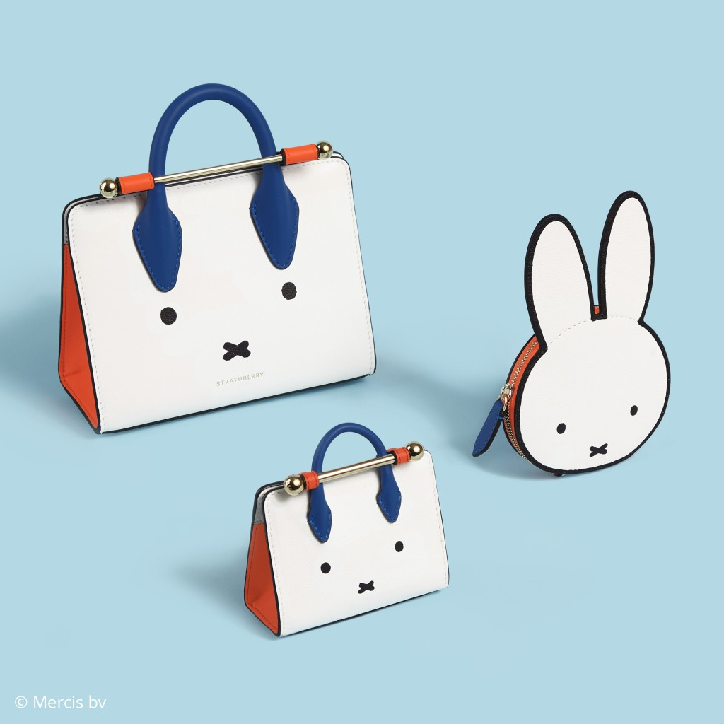 【直邮中国】Strathberry X Miffy 米菲兔限定合作款