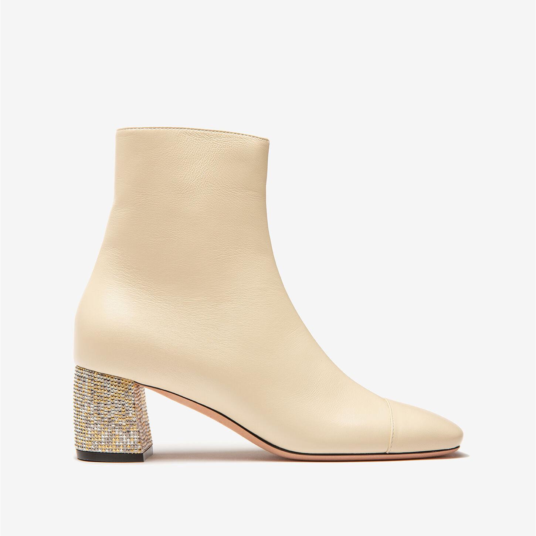 呜呜呜呜美到哭泣怎么会有这么好看的靴子啊!Bally Charlee皮靴 黑白双色可选
