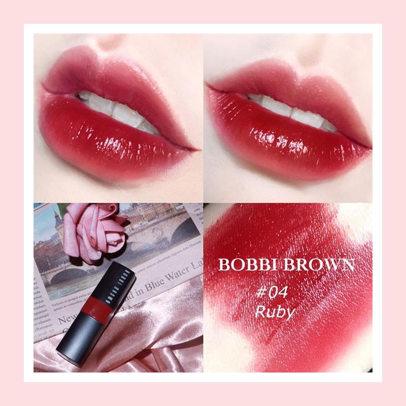 小支的口红设计也太贴心了吧!Bobbi Brown 炙恋唇膏Ruby/Babe