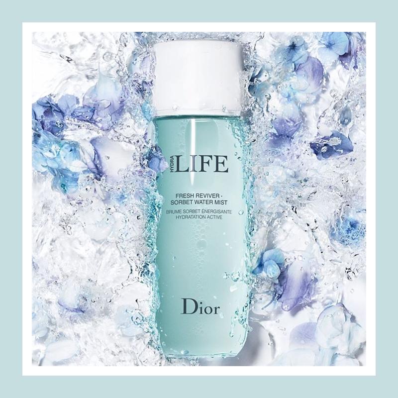 随时为肌肤注入清新活力!Dior 迪奥乐肤源系列清润喷雾