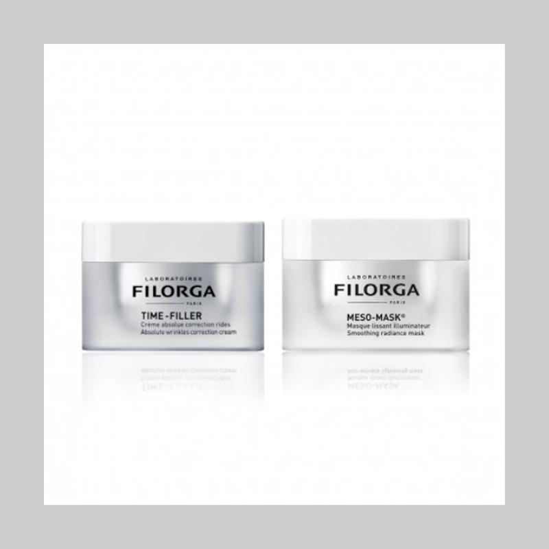 【直邮中国】保湿补水抗老,轻松逆转时光!Filorga 十全大补面膜+逆时光面霜
