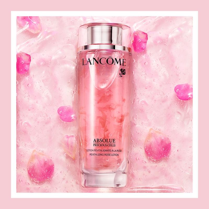 看得见的玫瑰花瓣和修护力!Lancôme 兰蔻菁纯臻颜玫瑰美容液150ml