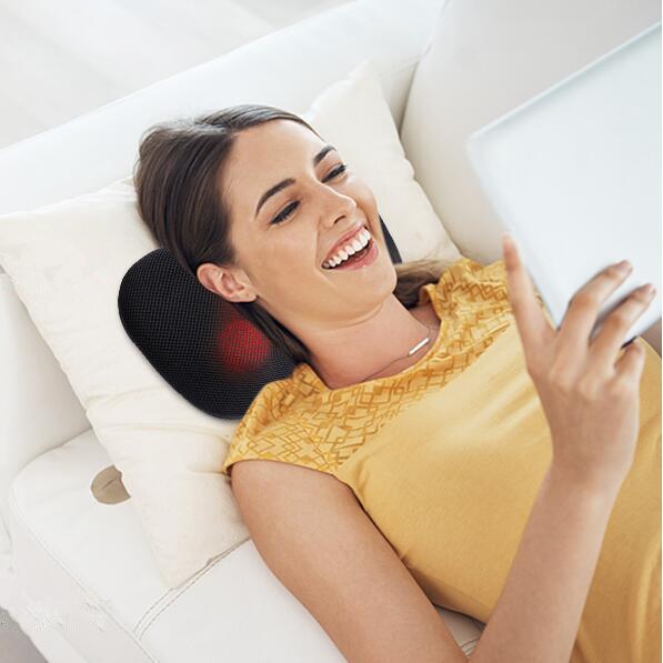 哪里不舒服按哪里 MaxKare多功能电动按摩枕