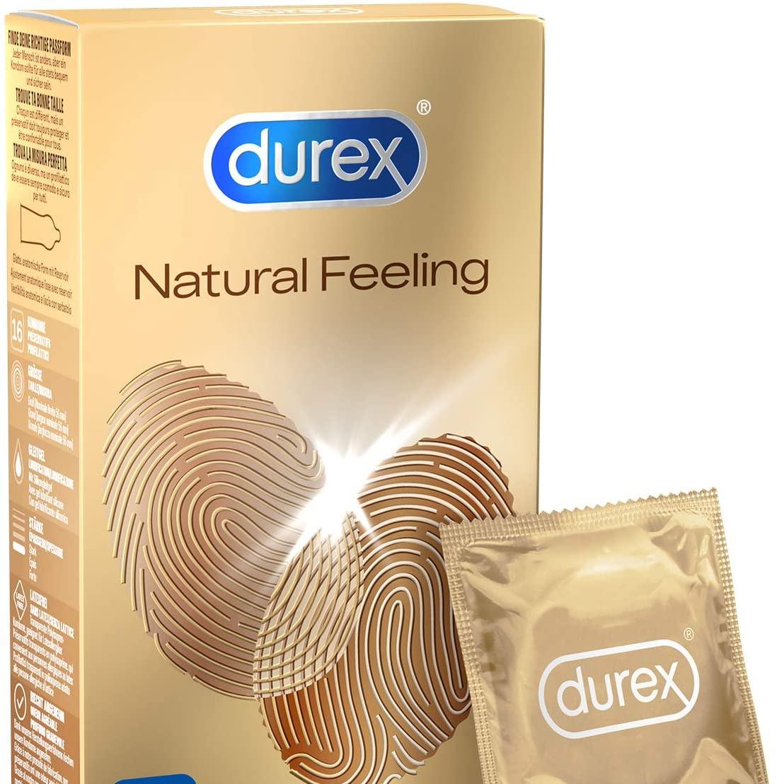 恍若无物!Durex杜蕾斯Natural Feeling 零乳胶安全套
