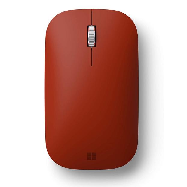 Microsoft Surface适配无线鼠标 典雅红