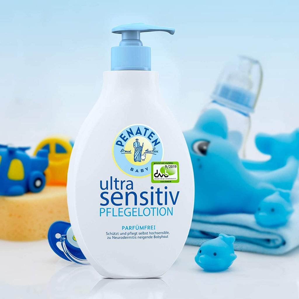 Penaten Ultra Sensitiv婴幼儿极致敏感肌肤护理乳液