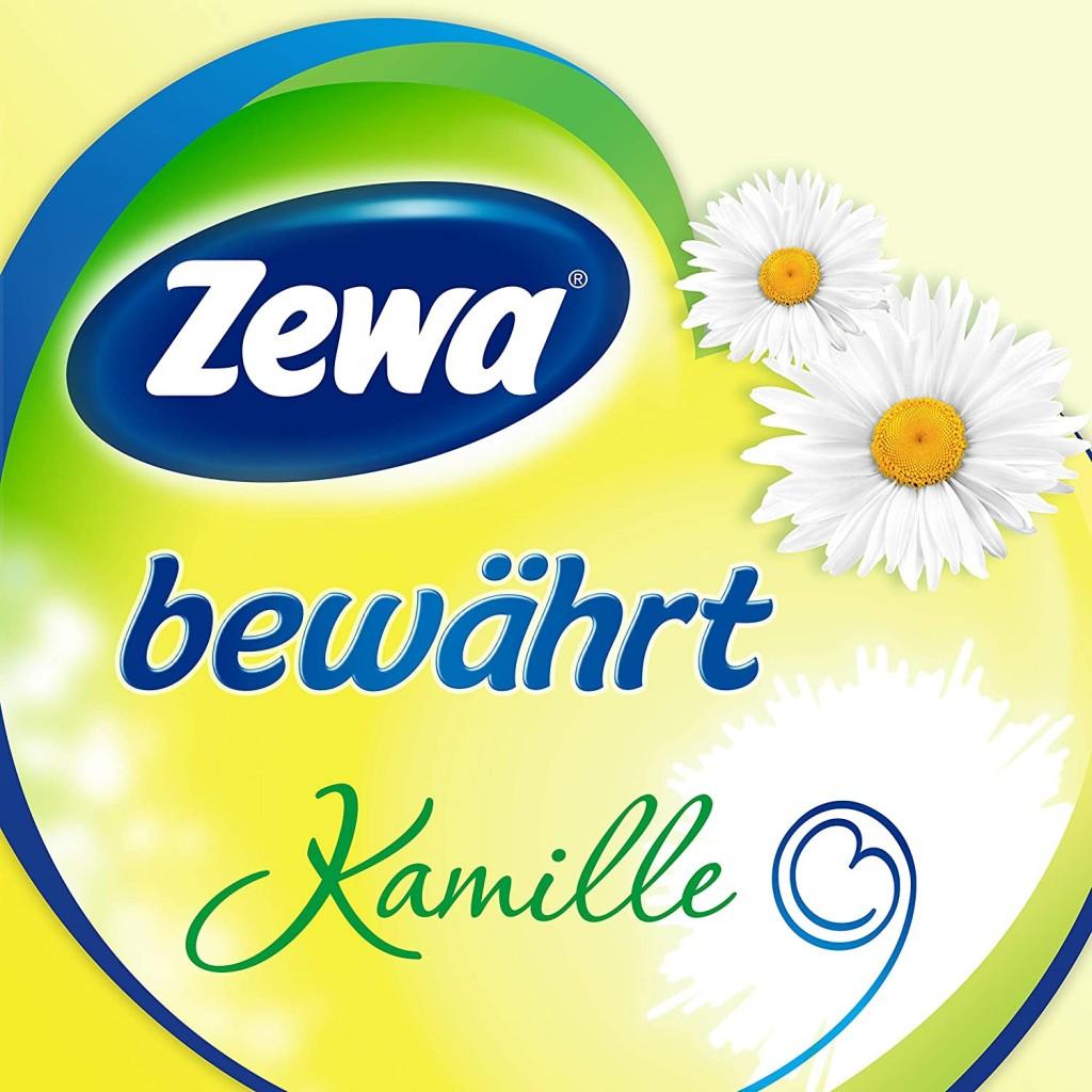 Zewa卫生厕纸家庭装3*16卷 清新洋甘菊香气