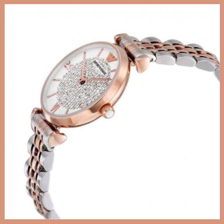 【直邮中国】千元级入门手表,Emporio Armani 满天星