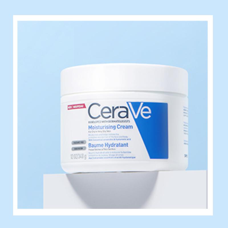 家居必备品!全家老小都可用!超大碗CeraVe 全天候保湿霜 454g