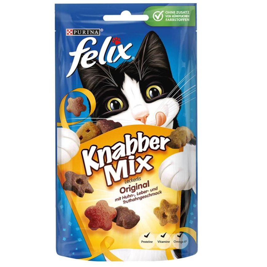 亚马逊上好评最多的猫咪零食 FELIX KnabberMix