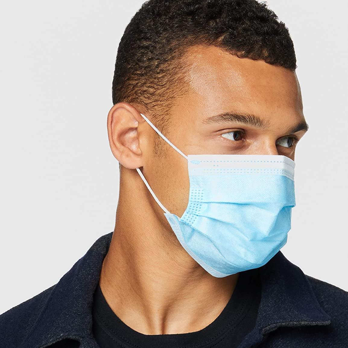 疫情反复更要备好口罩!亚马逊自营一次性口罩 50只装