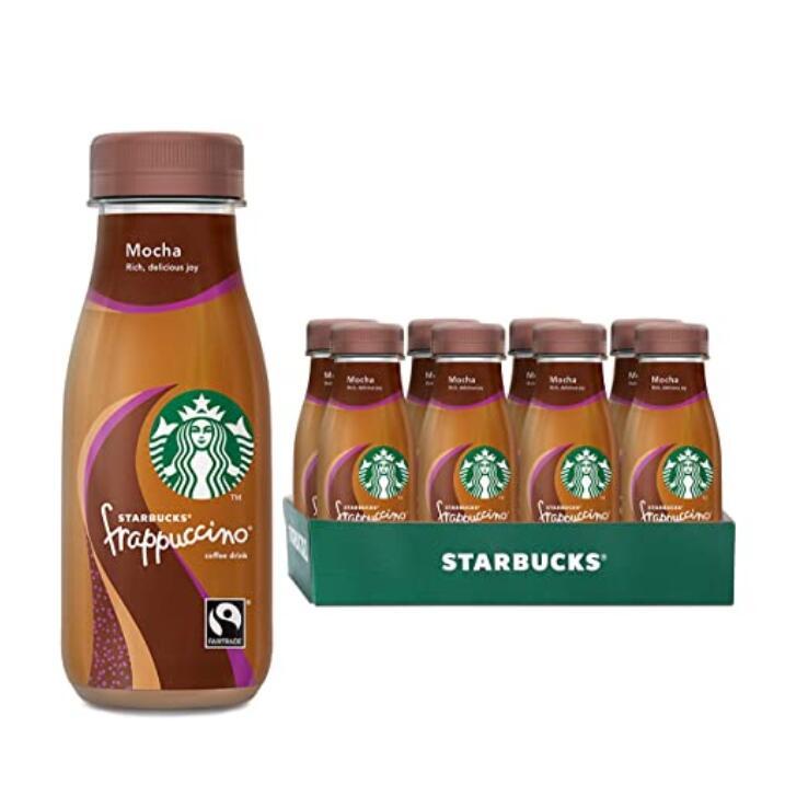 便携式瓶装星冰乐,让你随时随地享受咖啡。Starbucks星巴克摩卡星冰乐