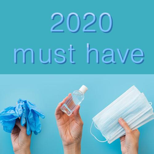2020 MUST HAVES!口罩、消毒洗手液等防疫用品