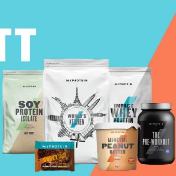 健身减肥期放开吃零食!Myprotein零食专场