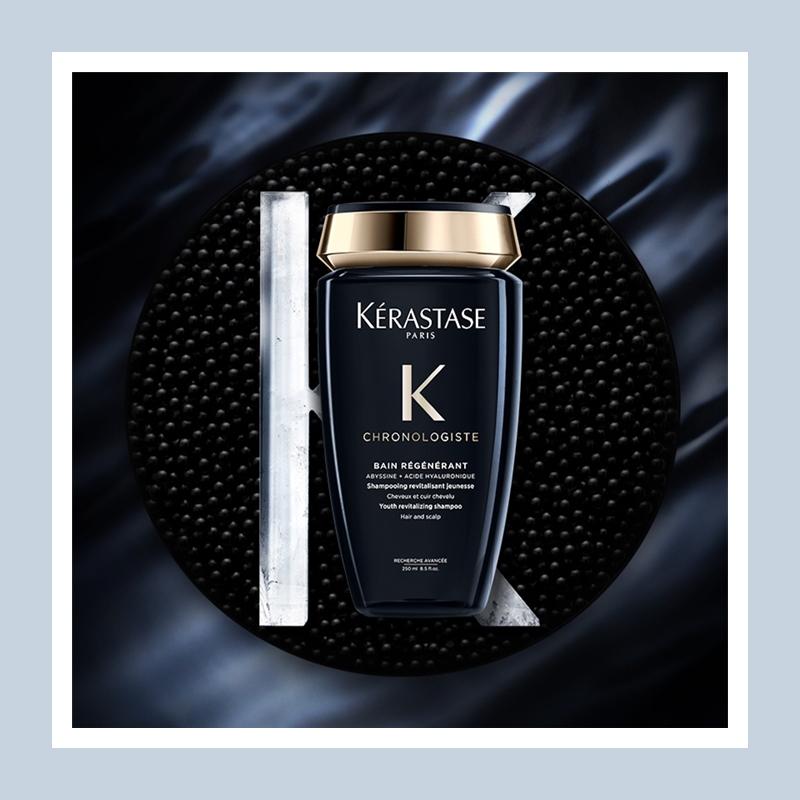 全新黑钻洗发水让你享受专业的享受!Kérastase 卡诗黑钻钥源洗发水