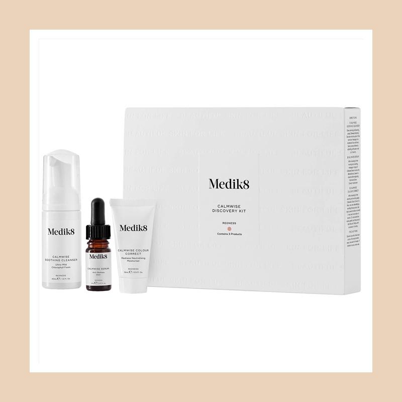 问题肌肤的急救良药,皮肤科医生推荐品牌!Medik8 舒缓祛红血丝急救套装