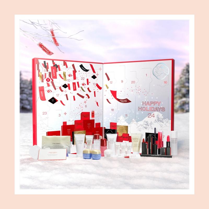 【超绝史低】这价格真的吹爆!价值322英镑的 Shiseido 资生堂圣诞日历