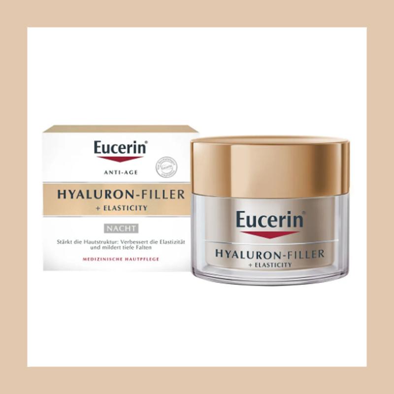 优秀的抗氧化能力和抗老能力!Eucerin 透明质酸抗衰老充盈晚霜50ml