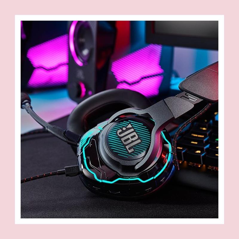 精准听声辨位,重新定义游戏耳机!JBL QUANTUM ONE 主动降噪头戴式游戏耳机