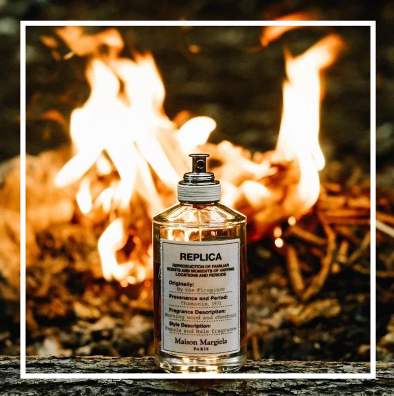 噼里啪啦燃着火苗的壁炉,抱着毛毯温暖的窝在一旁。这个冬天你一定要拥有一瓶 Maison Margiela 温暖壁炉