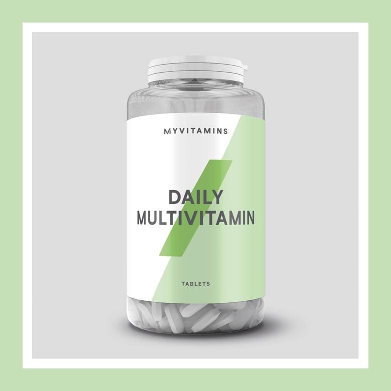 满足人体必需维生素每日推荐摄入量!Myvitamins 日常复合维生素片*60片