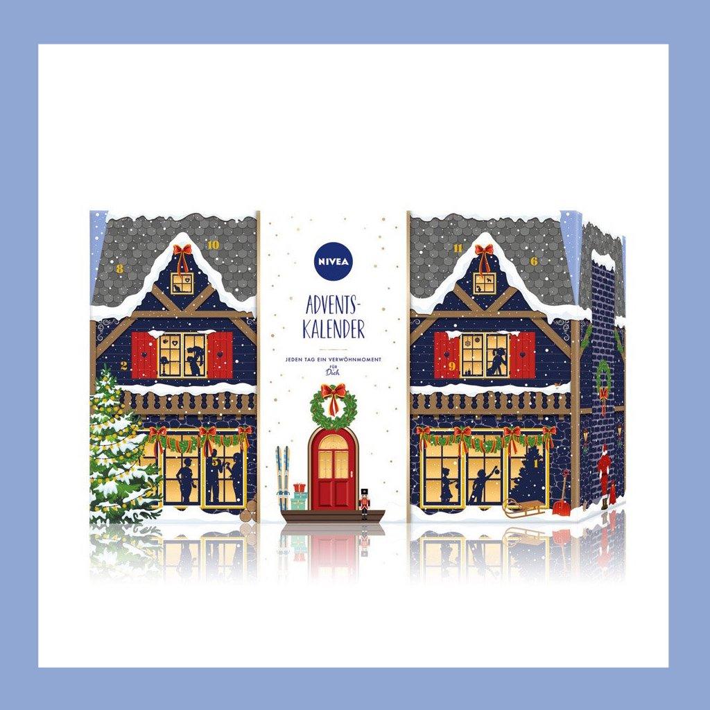 德国国民品牌 NIVEA/妮维雅 圣诞日历 2020版