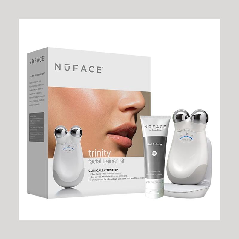 在家也能体验专业美容院的效果!NuFACE Trinity 微电流美容仪套装