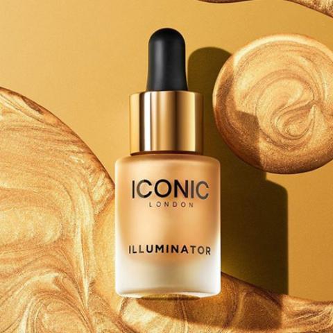保持整天光感肌!ICONIC London Illuminator液体高光 13.5ml