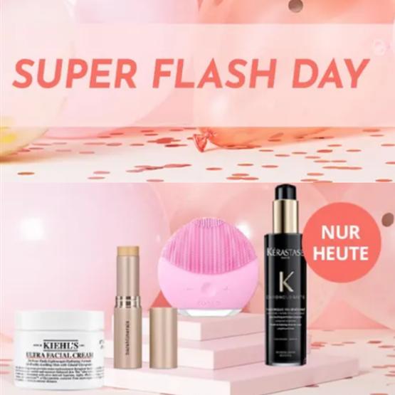 超值折扣仅限今天!Feelunique super flash day美妆护肤闪促