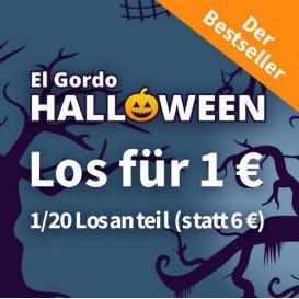 让你一夜暴富的西班牙大胖子! El Gordo Halloween万圣节特别版彩票