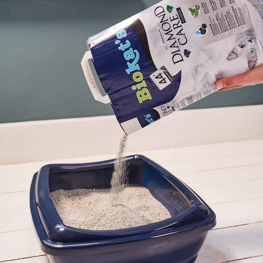 猫主子的绝佳享用品!活性炭和芦荟精制猫砂1袋10L