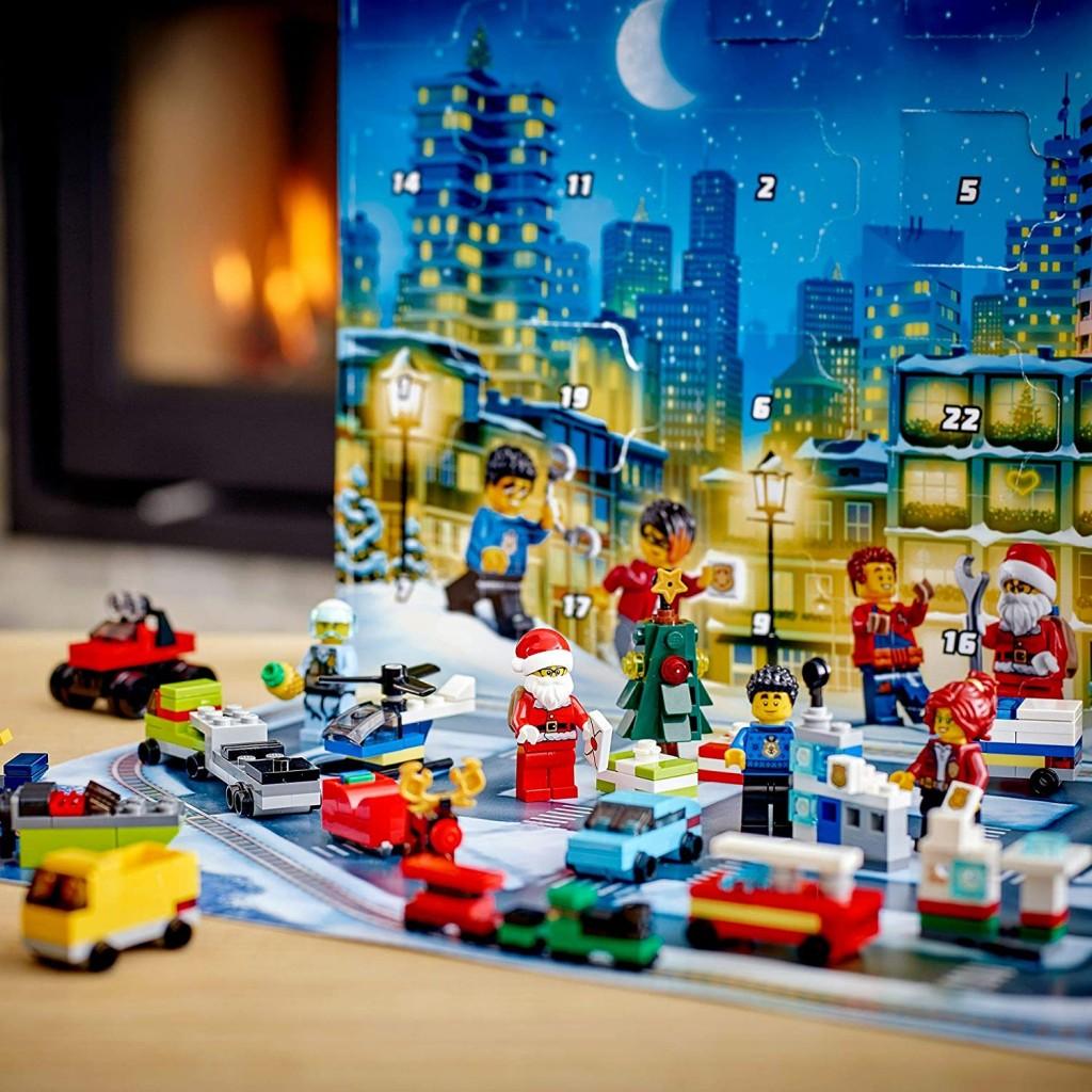 孩子们的专属礼物!Lego乐高城市系列2020圣诞日历