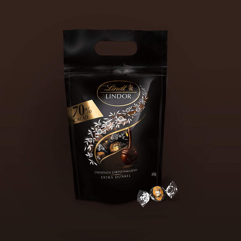 香浓丝滑超好吃的巧克力球!Lindt 巧克力球70%可可味