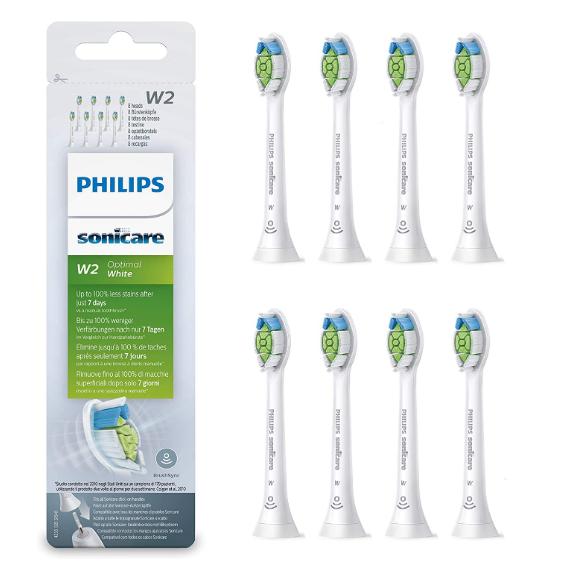 Philips Sonicare Optimal White 深度美白电动牙刷刷头 8只装