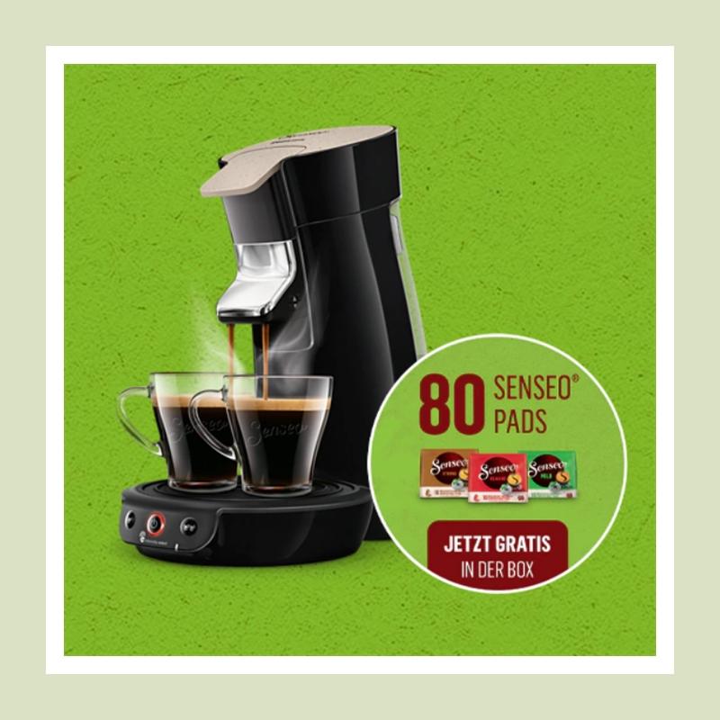 早晨一杯咖啡活力一整天! Philips Senseo 飞利浦咖啡机