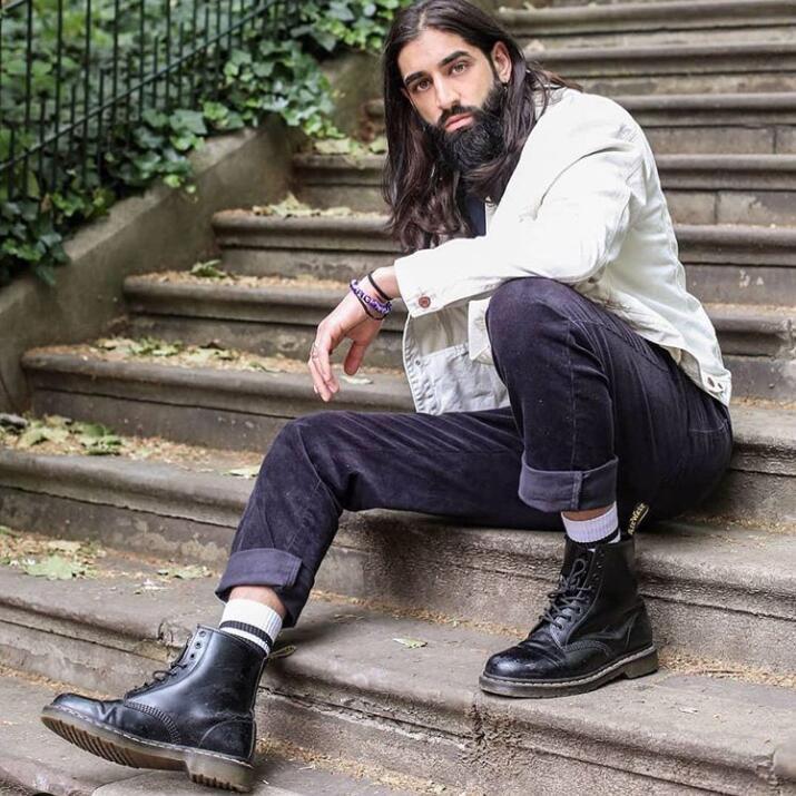 秋冬必备的Dr. Martens经典款马丁靴、切尔西靴