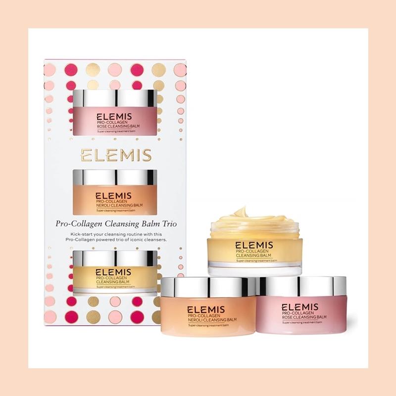 三款明星卸妆膏带你感受SPA级别美肤护理!Elemis 卸妆膏套装
