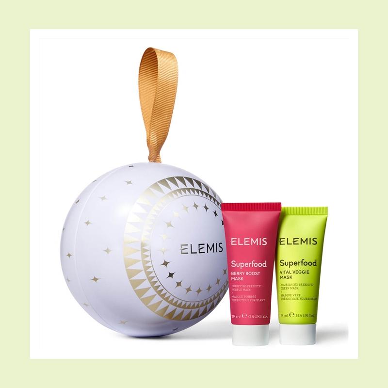 蕴含植物与生俱来的丰沛能量!Elemis 食物滋养系列圣诞面膜套装