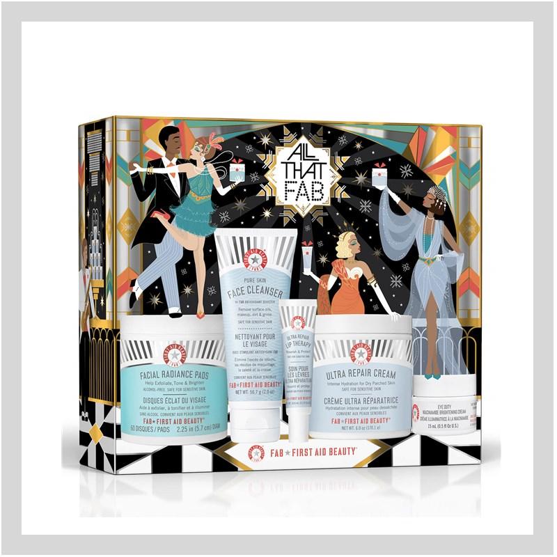 吹爆这个迷人的限定套盒!来自人见人爱的First Aid Beauty 圣诞限定套盒