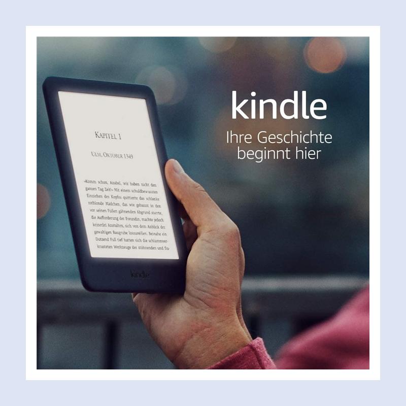 只想要最纯粹最静心的阅读体验?没问题!Kindle 基础版满足你!