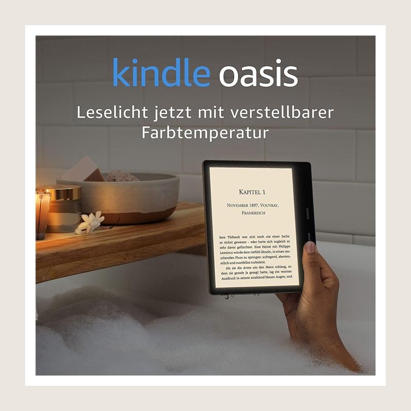 颠覆你对电子书的理解,强大功能更胜纸质书!Kindle Oasis 至尊旗舰版