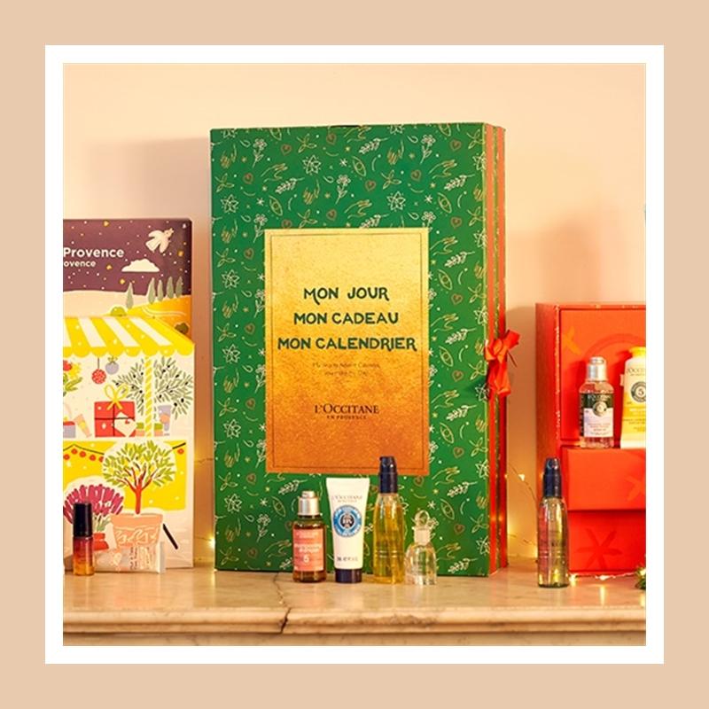 全是自己喜欢的产品,这就是个性化的乐趣!L'OCCITANE 欧舒丹自选圣诞日历
